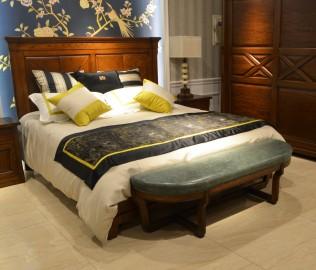 欧嘉璐尼,床尾凳,实木家具