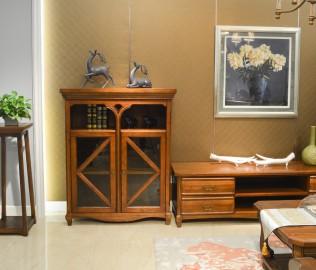 欧嘉璐尼,客厅柜,实木家具
