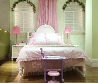 美墅馆,床头柜,实木家具