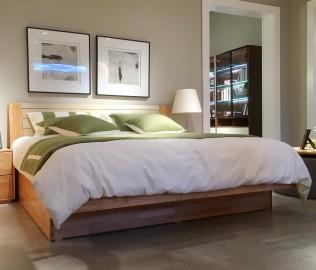 百强家具,双人床,床