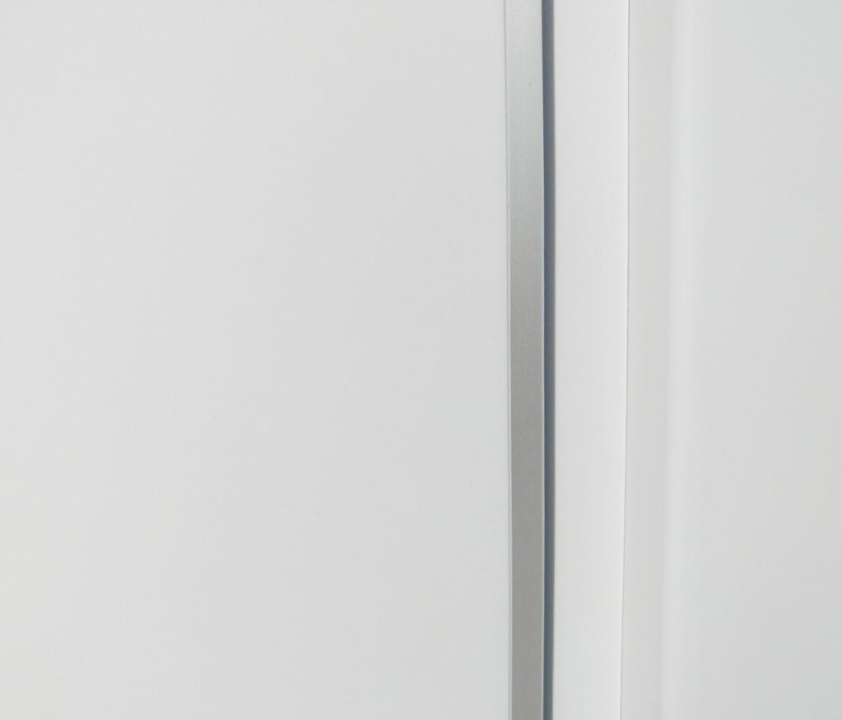 TATA木门 自主写真型号白混油实木复合门 俄罗斯进口松木 细节展示