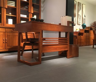 一品木阁,电脑桌,实木家具
