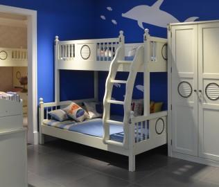 哈利木屋,上下床,床