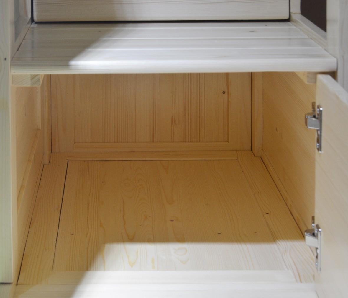 松果儿童家具 PAB010-1.35型号实木上下床 芬兰松材质儿童床 商品细节