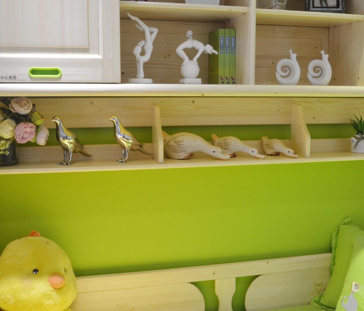 松堡王国 SP-A-C307S型号功能床 芬兰松木材质儿童家具 商品细节