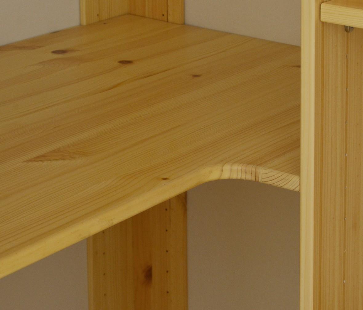 芙莱莎 81-24527-1型号角柜 北欧风格儿童实木角柜 商品细节
