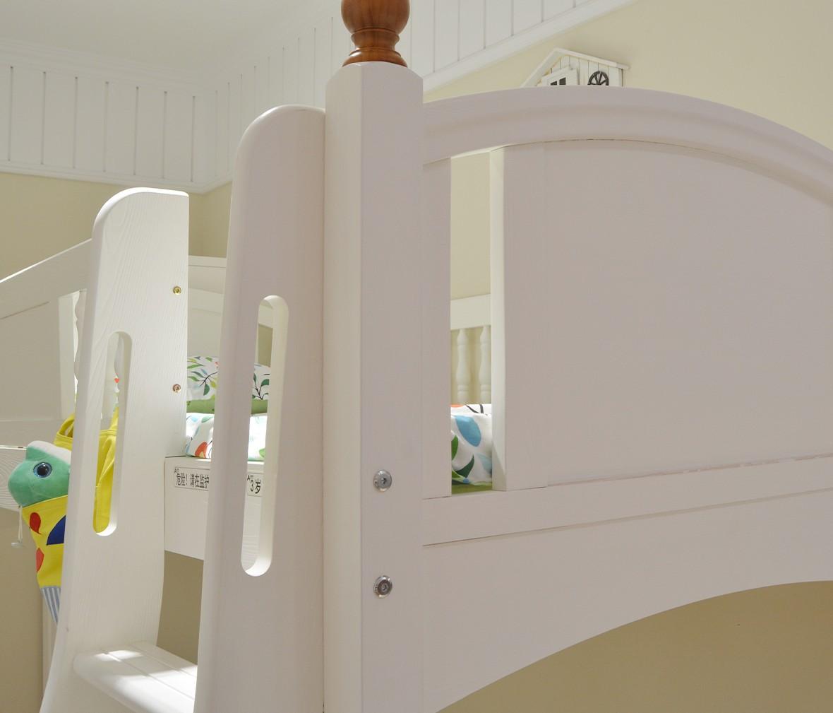 弋玛特儿童家具 C-88A型号上下床 进口智利松材质儿童床 商品细节