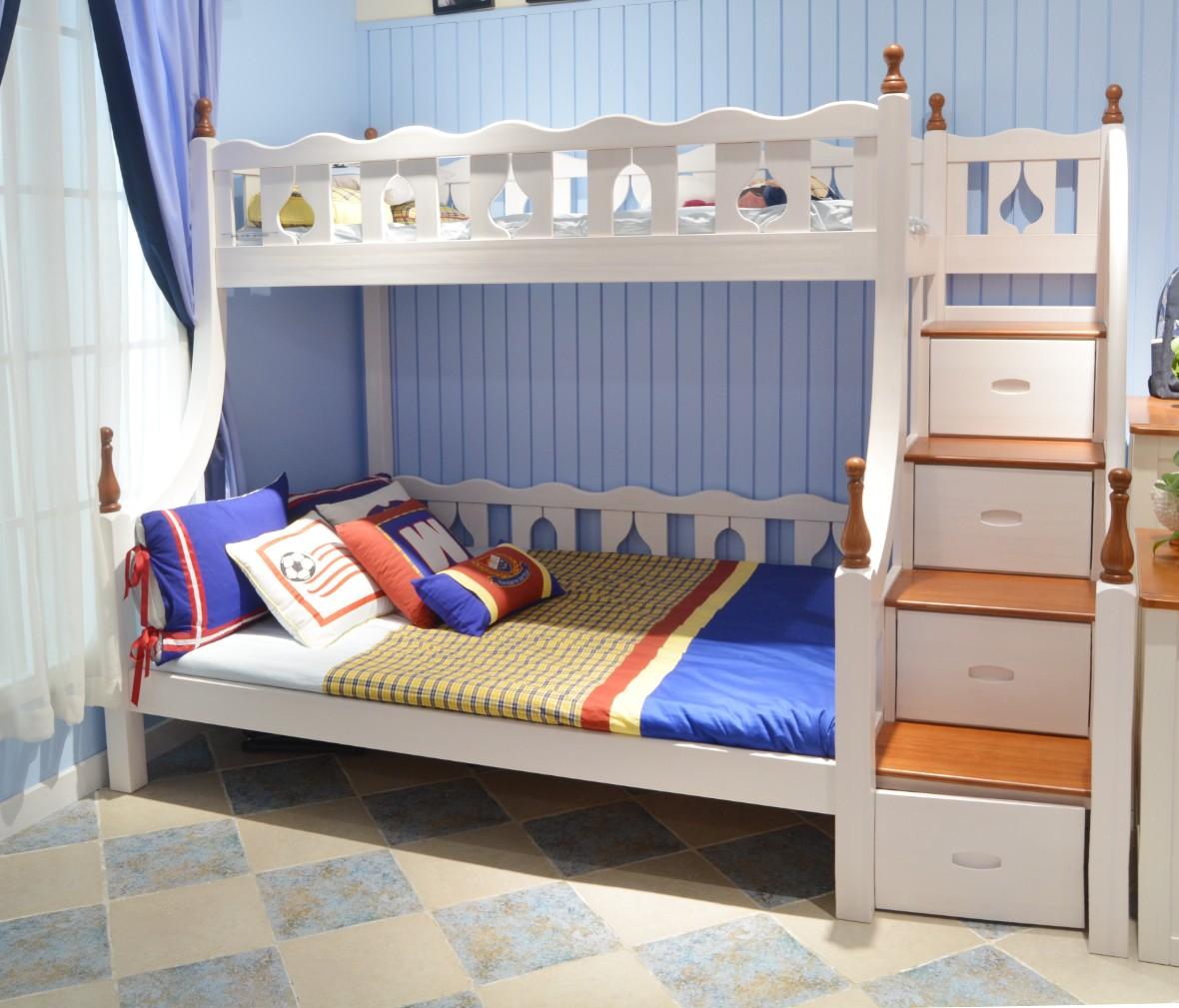 普罗城堡 D-B09型号上下床 进口俄罗斯松木材质上下床 商品情景
