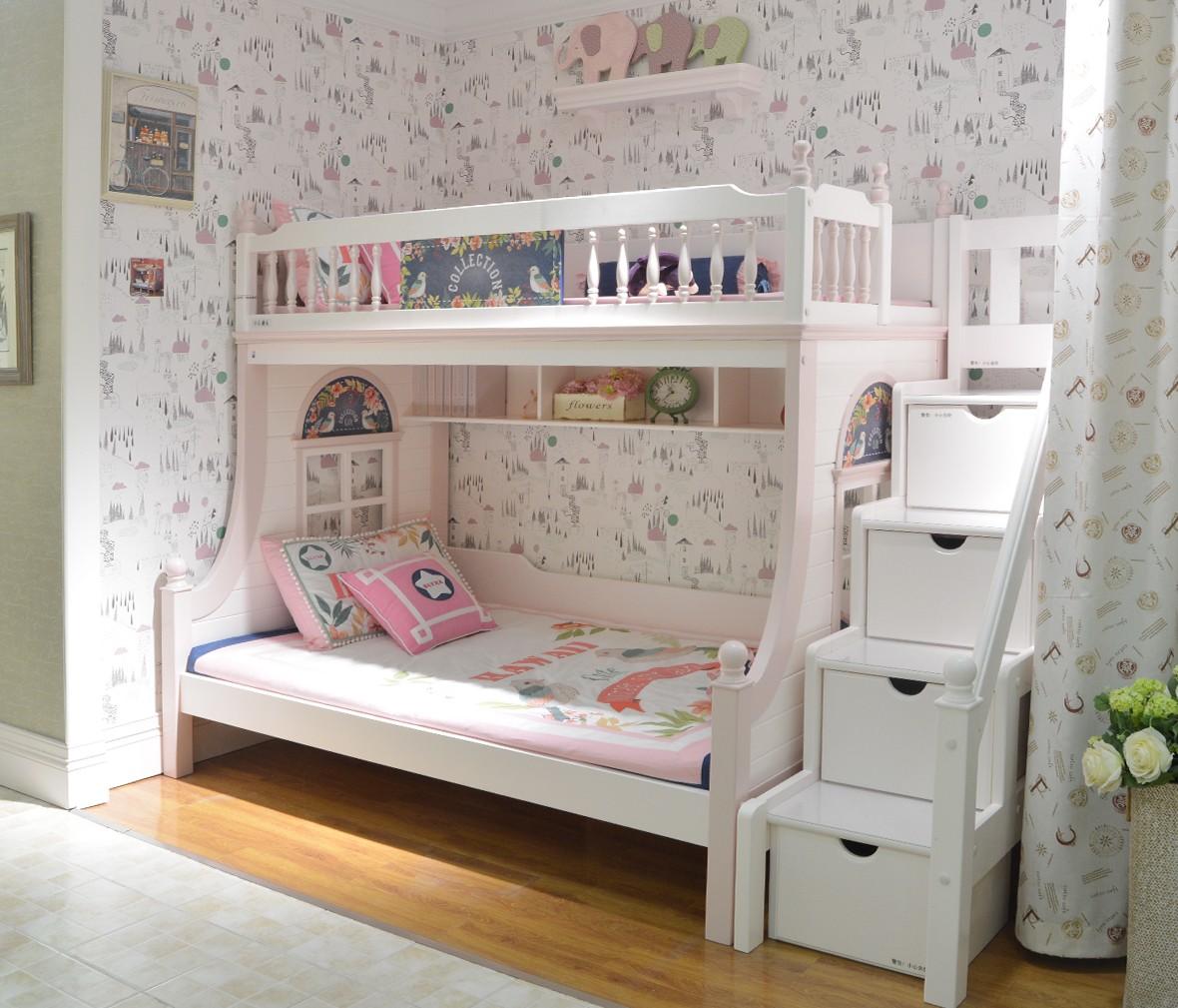 美墅馆儿童家具 VHA019-0912型号星星索 美墅馆 进口美洲松材质 商品情景