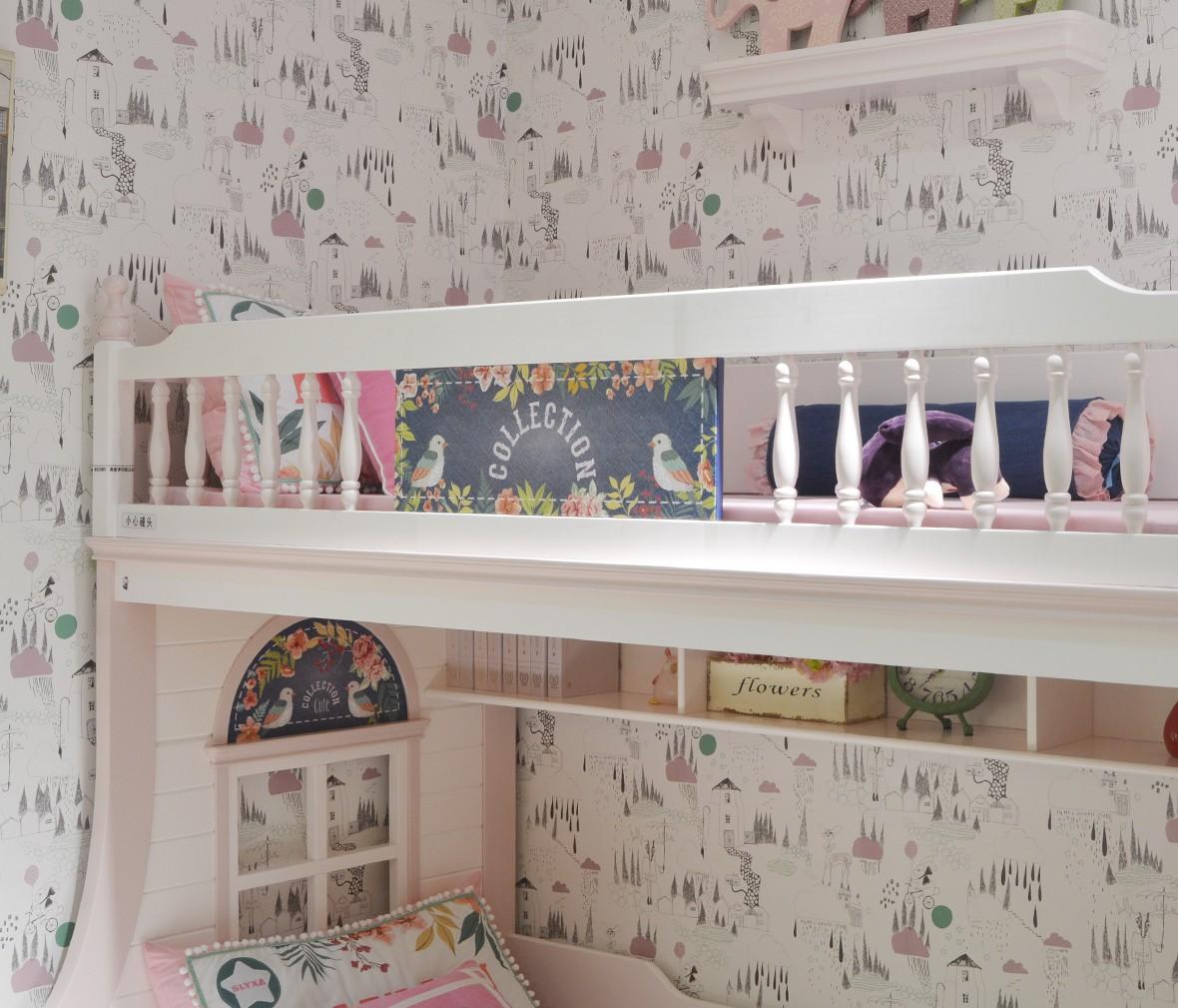 美墅馆儿童家具 VHA019-0912型号星星索 美墅馆 进口美洲松材质 商品细节