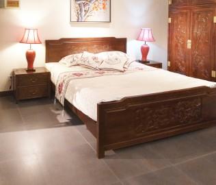 瑜韵,实木家具,床