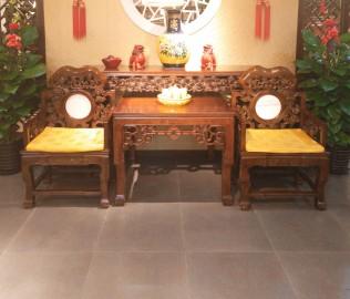 瑜韵,实木家具,太师椅