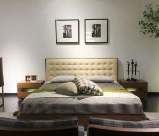 尚景,双人床,床
