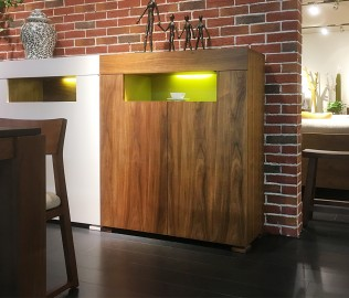 尚景家具,餐边柜,板材边柜