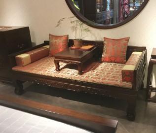 誉承堂,罗汉床,炕桌
