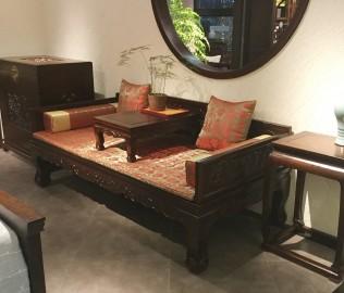 誉承堂,罗汉床,实木床