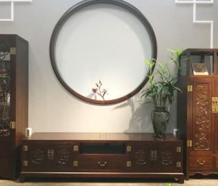誉承堂,电视柜,实木柜