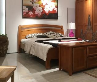 联邦家居,双人床,实木床