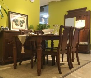 欧嘉璐尼,一桌四椅,餐桌椅
