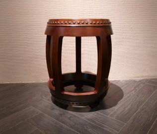 誉承堂,鼓凳,实木家具