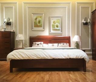 华鹤家具,特价床,实木床