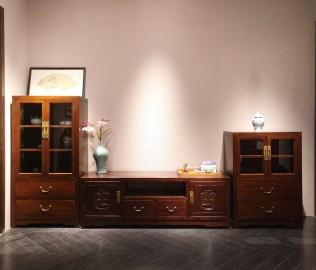 誉承堂,电视柜,实木家具