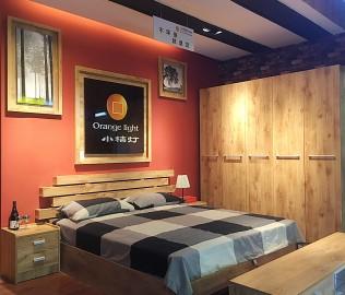 小桔灯,卧室家具,板材家具