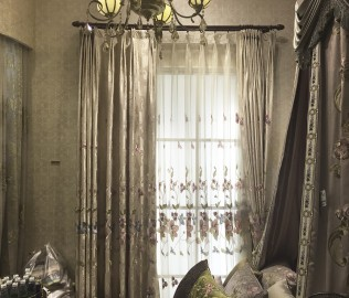 天权布艺,窗帘,遮阳帘