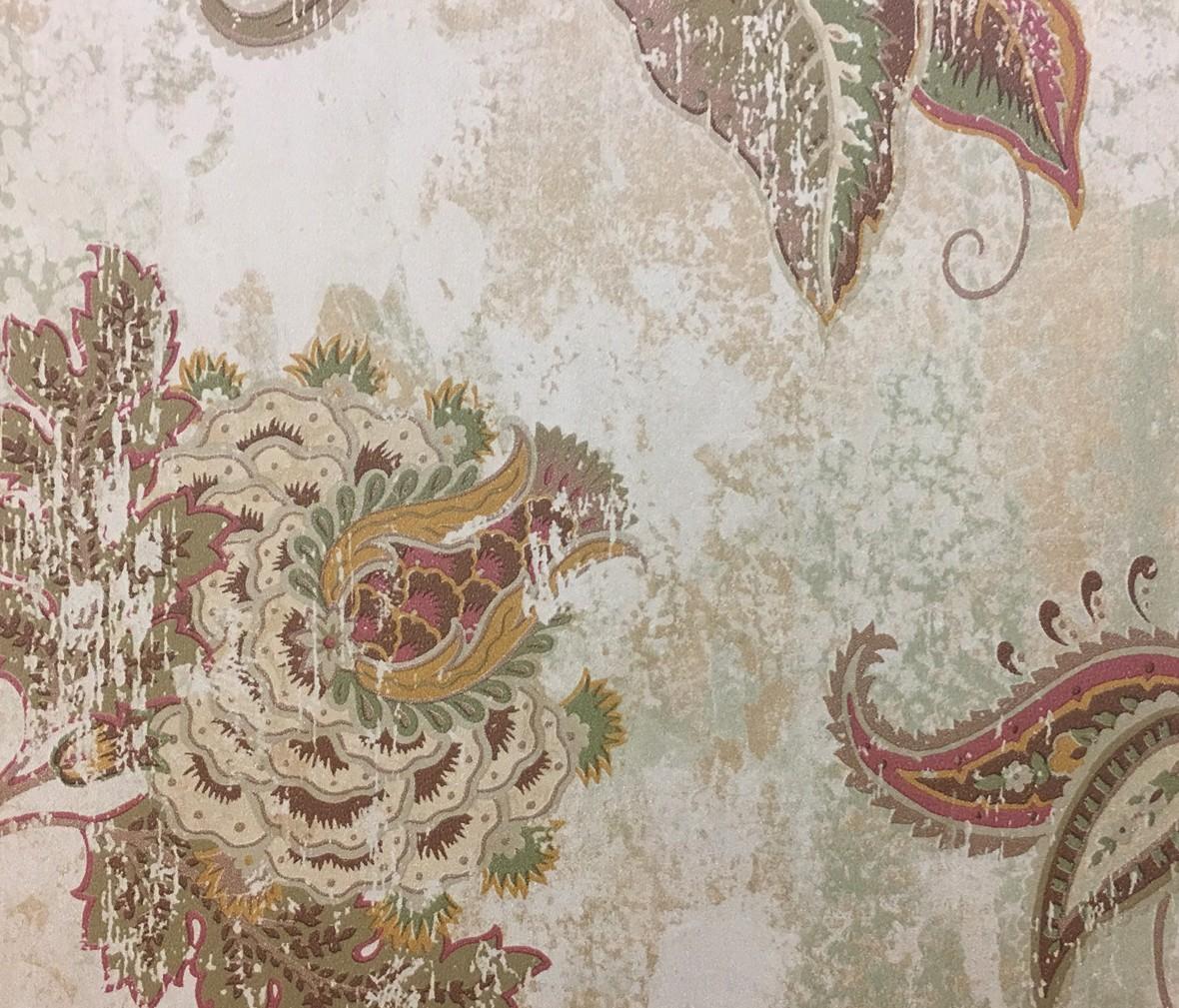 得高壁纸 田园古风系列 特价纯纸壁纸 进口墙纸 现代