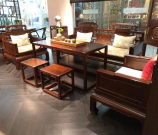 誉承堂,沙发,实木家具