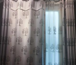 锦上添花,窗帘,布艺