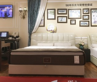 雅兰床垫,双人床,卧室家具