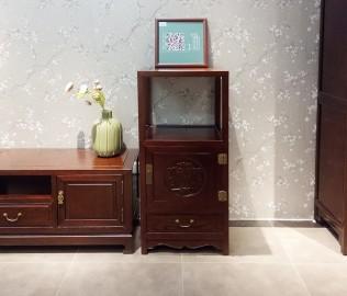 展示柜,榆木,实木家具