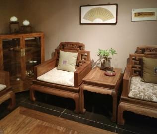 沙发,单人位,花梨木