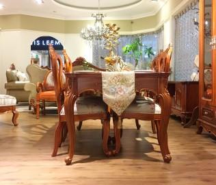 晓月蕾曼,餐桌,欧式风格