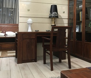 华日家居,字台,实木桌子