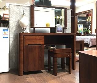 华日家居,梳妆台,实木家具