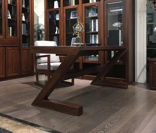 华日家居,写字桌,实木桌子