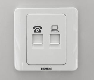 朗士灯饰,电脑插座,电话插座