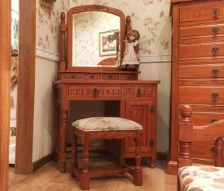 妆凳,凳子,实木家具