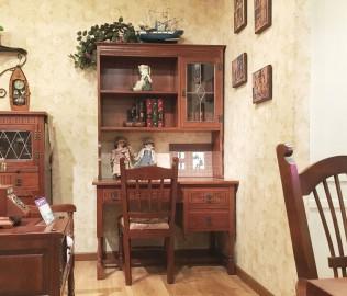 背椅,椅子,实木家具