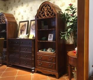 迦南家具,书柜,实木家具