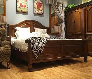 迦南家具,双人床,实木家具