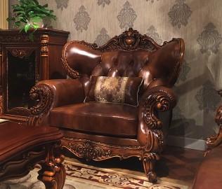 晓月蕾曼,单人沙发,实木家具
