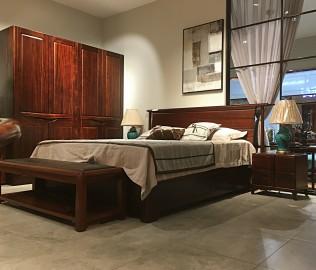 意风家具,床,实木床
