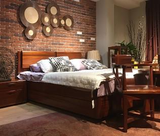 意风家具,双人床,卧室家具