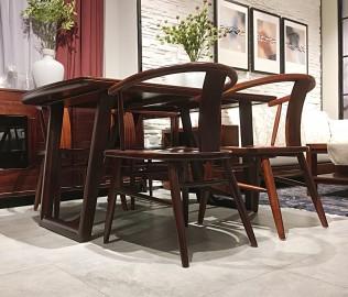 意风家具,餐桌,实木桌子