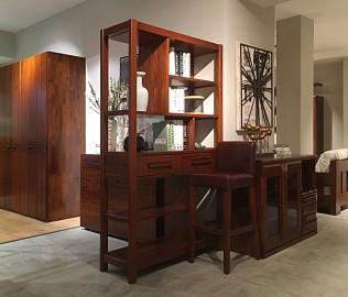意风家具,隔厅柜,实木柜子