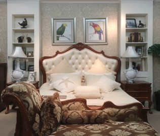 伯爵庄园,双人床,卧室家具