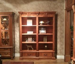 伯爵庄园,双屉书柜,书柜